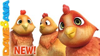 🐥 Farm Animals Song | Nursery Rhymes and Children's Songs from Dave and Ava 🐥