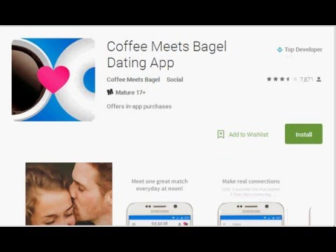 Coffee meets bagel without facebook