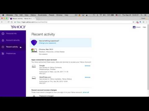 How To Check If Your Yahoo Account Has Been Hacked (2016)