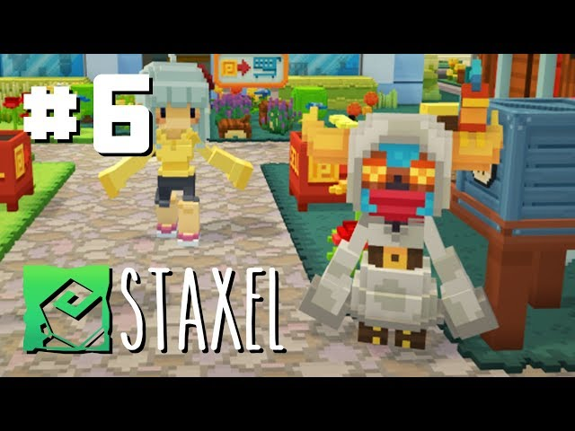 Let's Play Staxel - Ep 6 - Bug Catching in the Forest for CASH
