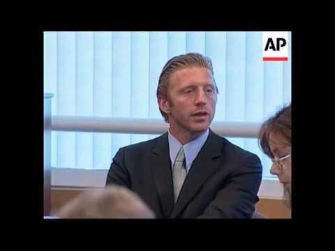 USA: BORIS BECKER DIVORCE HEARING