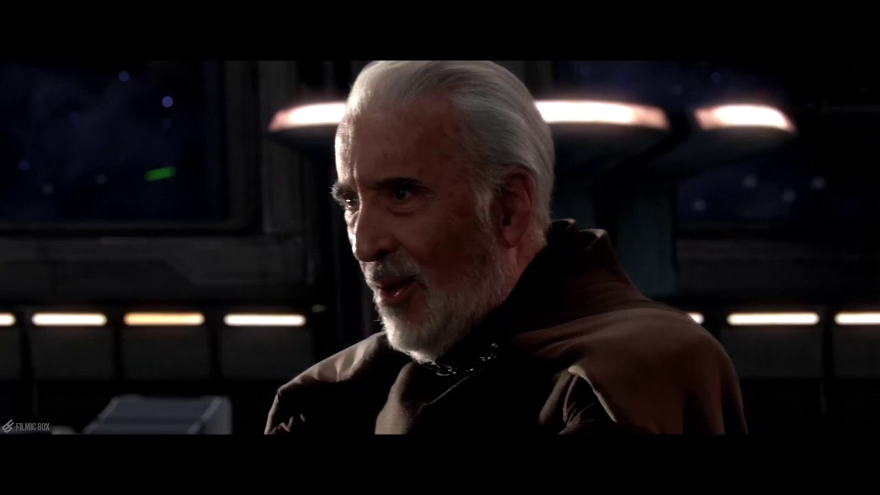 Dooku tries to assassinate Palpatine