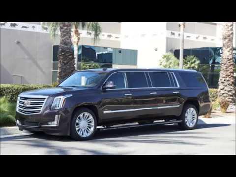 2017 Cadillac Escalade Platinum Edition Six Door Limo
