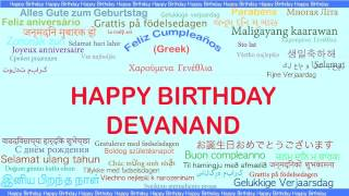 Devanand   Languages Idiomas - Happy Birthday