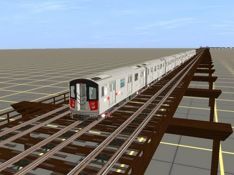 Trainz:Let's take a Ride on  R142 from the Grand Concourse to 239th Street Yard