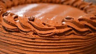 Mocha Coffee Chocolate Cake
