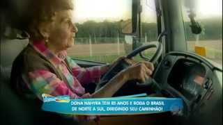 Repeat youtube video Hora do Faro 07/06/2015 - Faro viaja na boleia da Caminhoneira mais velha do Mundo