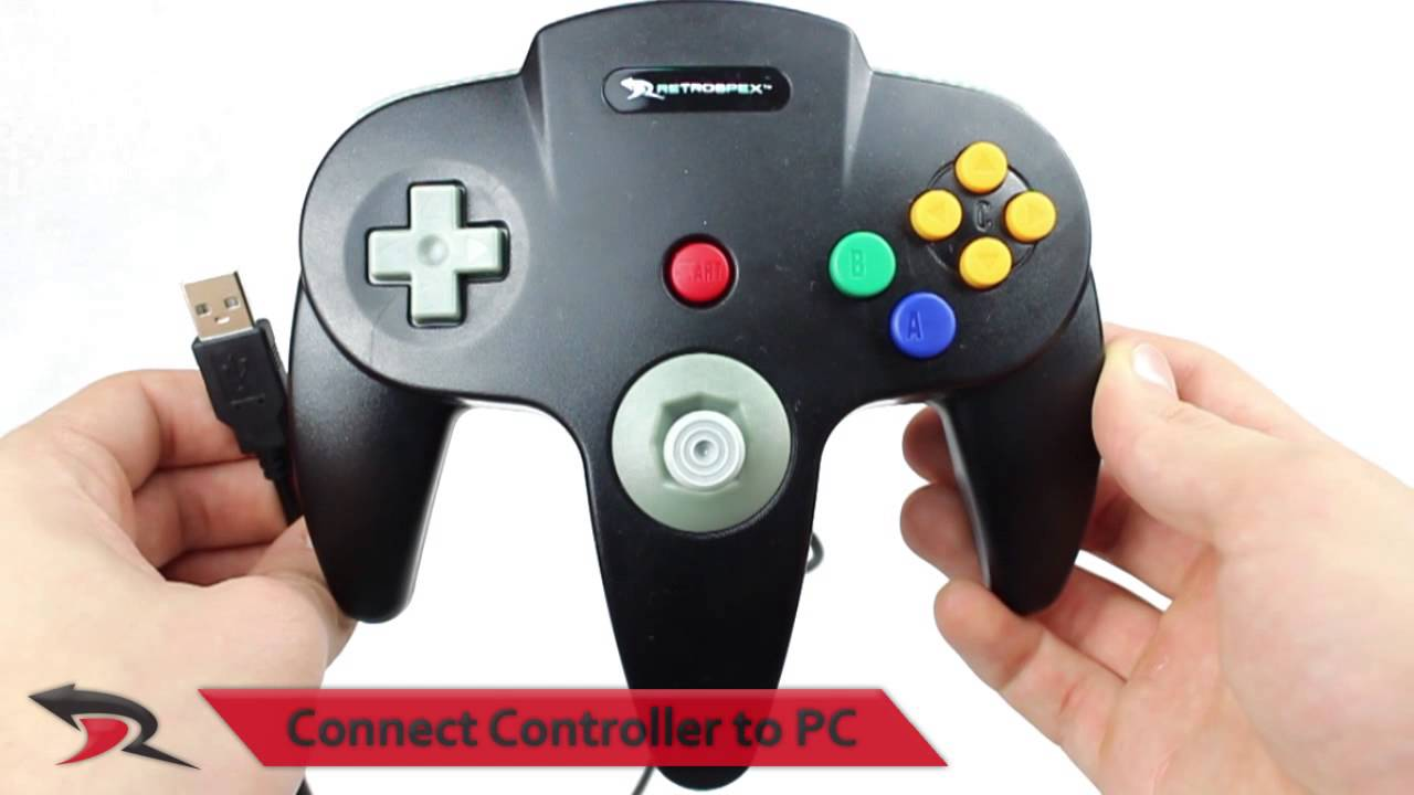 Installing a USB Nintendo 64 Controller with Project 64 [emulator]