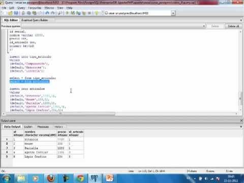 VideoTutorial 4 del Curso de PHP y PostGreSQL