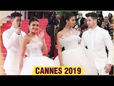 Cannes 2019 | Priyanka Chopra and Nick Jonas on the Red Carpet | 72nd Cannes Film Festival 2019