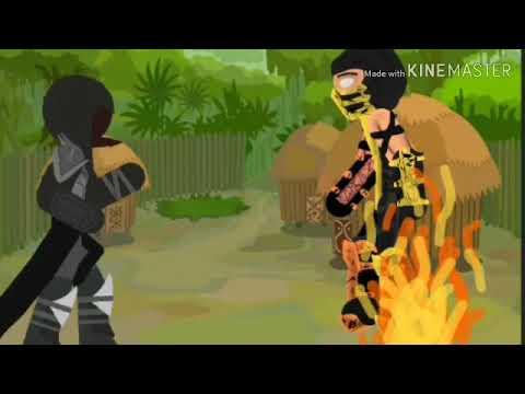 Mortal Kombat в Рисуем мультфильмы 2