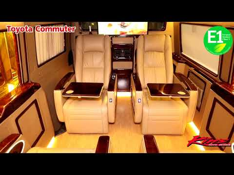 Toyota Hiace Commuter Luxury Vip By.... Kin's Thailand