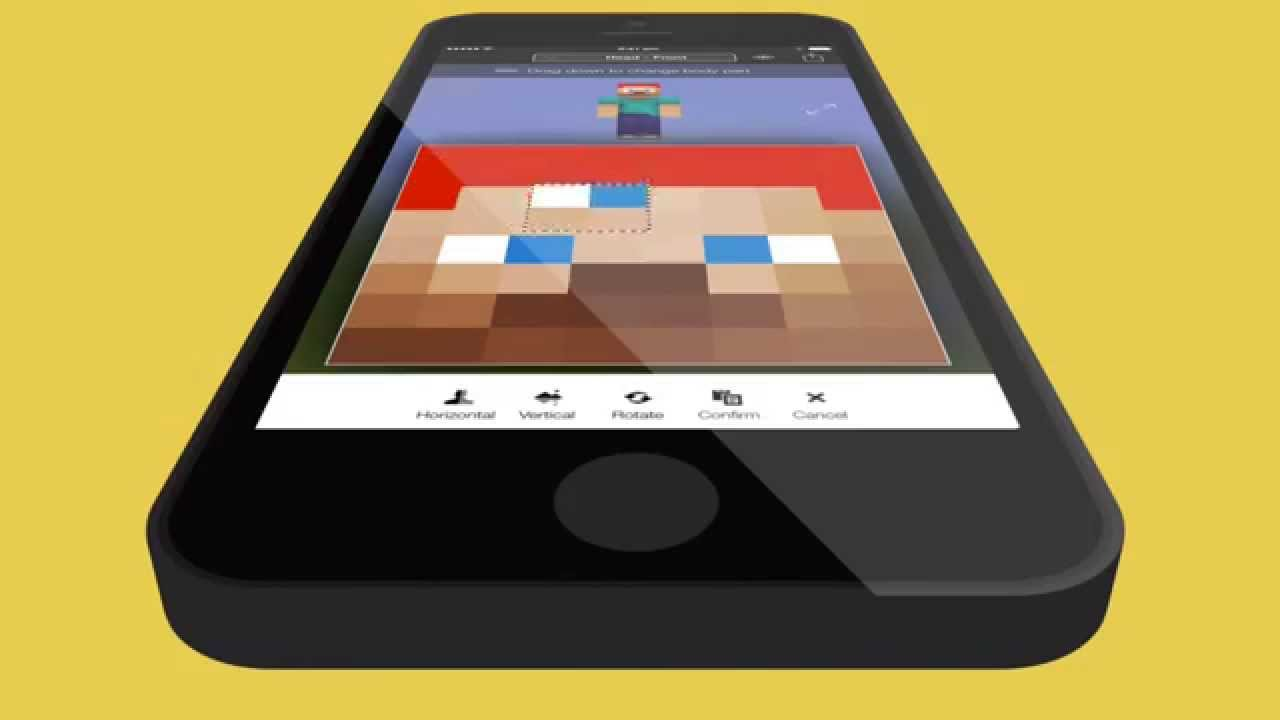 Minecraft Skin Studio - Official Minecraft Skin App for iOS