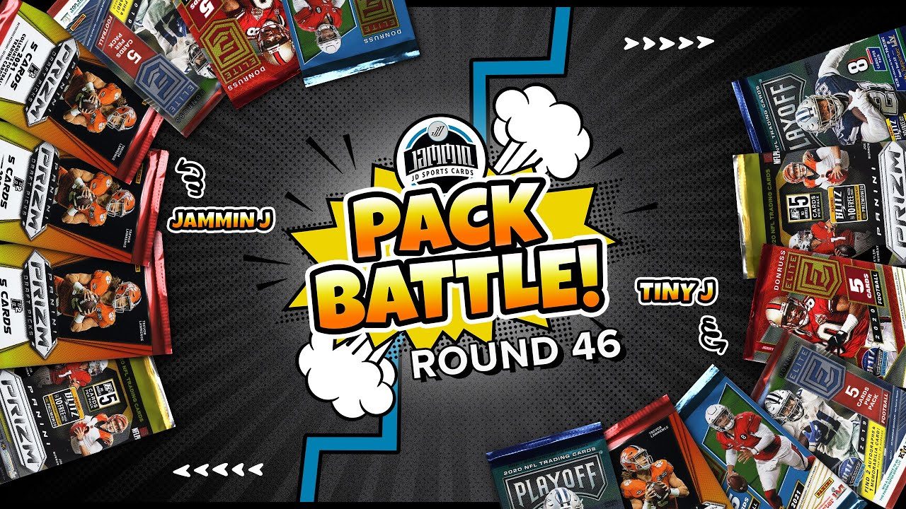 Pack Battle EP. 46   Random Football Card Hobby Pack Opening   Giveaway Results