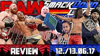 WWE RAW Vs SmackDown Review JUNIVERSAL CHAMPION 12 13 06 17 Deutsch German