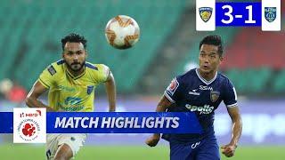 Chennaiyin FC 3-1 Kerala Blasters FC - Match 42 Highlights | Hero ISL 2019-20