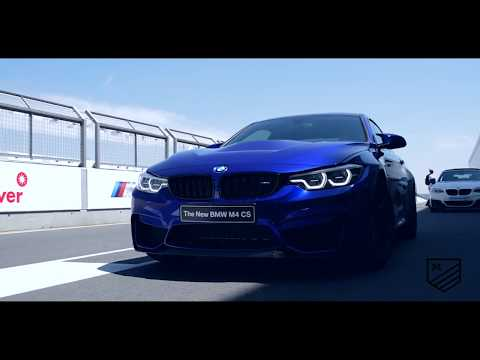 BMW M4 CS driven at the BMW M Festival 2017