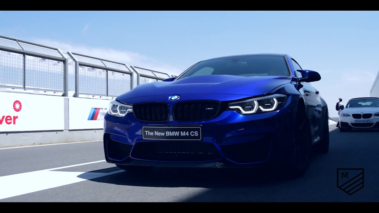 bmw m4 cs driven at the bmw m festival 2017 - youtube