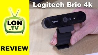 Logitech Brio 4K / 1080p 60 fps Ultra HD Webcam Review