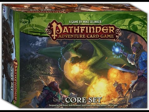 Pathfinder Adventure Card Game Core Set Ep 1
