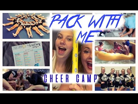 Pack With Me | UCA Cheer Camp