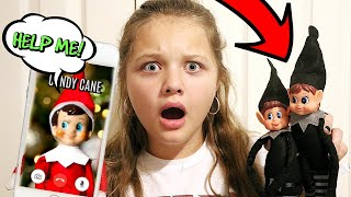 Elf On The Shelf is MISSING! Mean Elf Stole Candy Candy! We Touched The Elf on The Shelf!