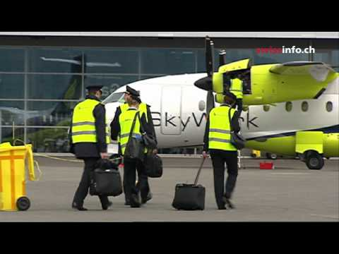 Bern airport takes off