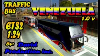 New Pack Mods - Bus Traffic de Venezuela (BETA) | Euro Truck Simulator 2 | Donwload MEGA | Gameplay