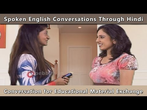 Spoken English Conversation at College | Learn English Through Hindi | English Grammar