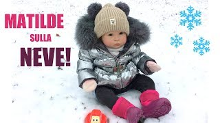 Matilde Bambola Reborn sulla Neve!! || + Backstage Video