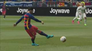 Pes 2016 GamePlay PC -Barcelona FC Vs Realmadrid FC- (Penalty kicks)