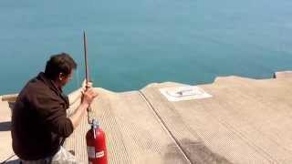 Power line shooting fishing Chicago