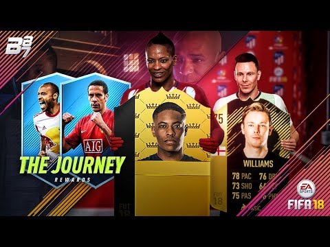 THE JOURNEY! EVERY ULTIMATE TEAM REWARD! | FIFA 18 ULTIMATE TEAM