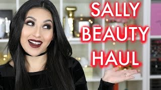 SALLY BEAUTY GLAM READY HAUL | BEAUTYYBIRD