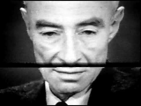 Oppenheimer Quote Inspiration Atomic Age  Jrobert Oppenheimer Quote  Youtube
