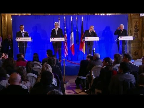 Joint Press Availability with Foreign Ministers after Syria Meeting in Paris