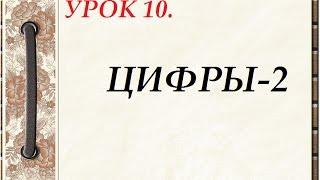 Русский язык для начинающих. УРОК 10.  ЦИФРЫ-2