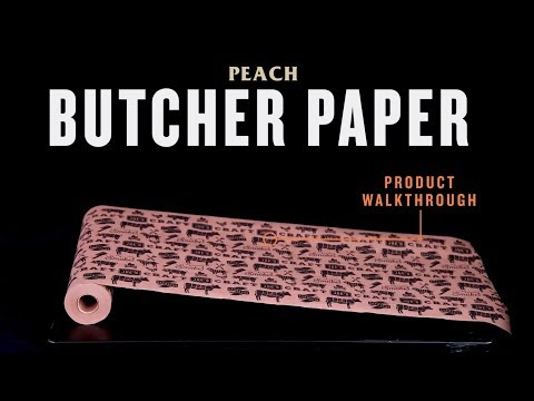 Peach Butcher Paper - Product Walkthrough | Oklahoma Joe's