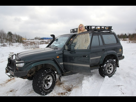 Toyota LAND CRUISER 80/Тойота ЛЭНД КРУЗЕР 80: народный тест Автопанорамы