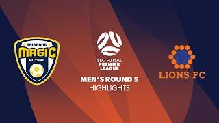 SEQ FPL Men's R5 - Magic City Pirates vs. Lions FC Highlights