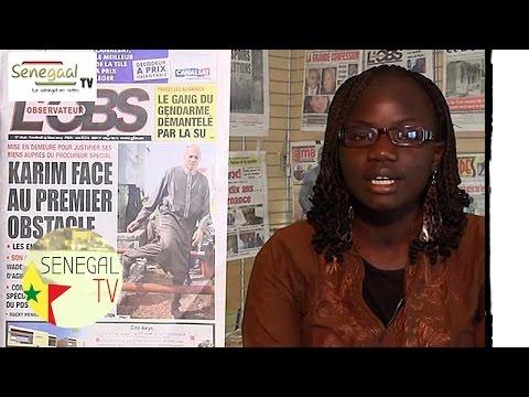 revue  de presse senegal tv du du 15 Mars 2013