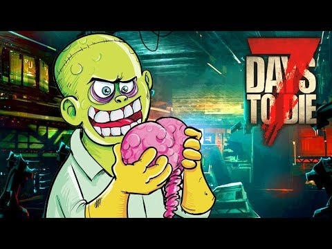 ZOMBIE DNA TESTING (7 Days To Die - War of the Walkers Mod)(