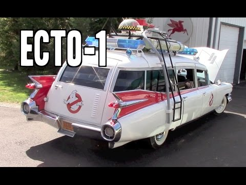 Ecto-1 Ghostbusters Movie Car 1959 Cadillac Miller Meteor - YouTube