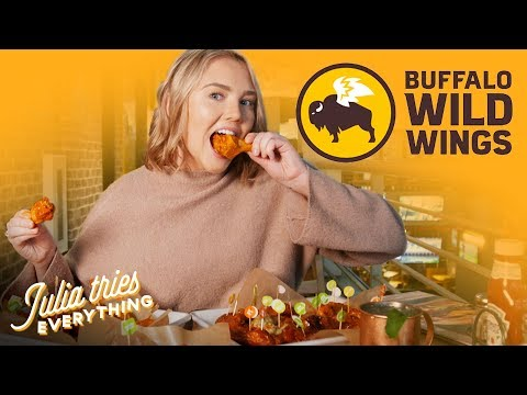 Trying ALL Of The Wings At Buffalo Wild Wings