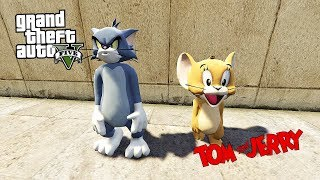 Tom ve jerry tÜrkÇe ! (gta 5 mods)