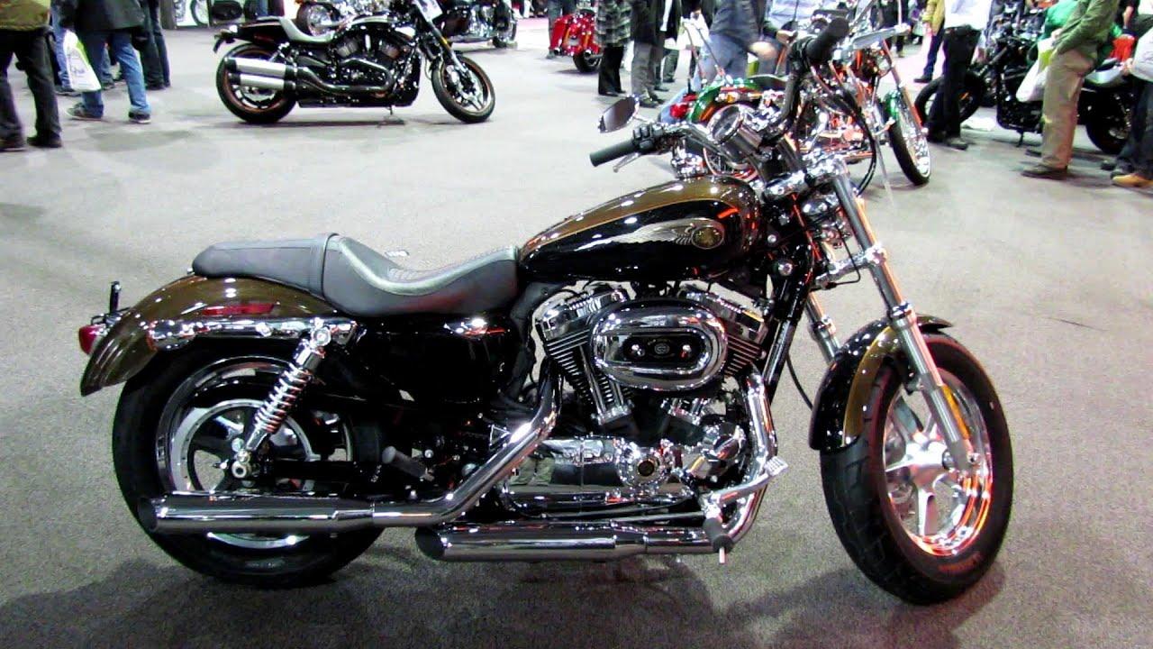2013 Harley-Davidson XL1200C Sportster - 110th Anniversary Edition