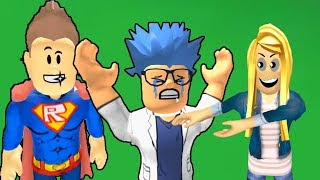 SUPERHEROES ESCAPE FROM THE TRAP Roblox Super Hero Adventure