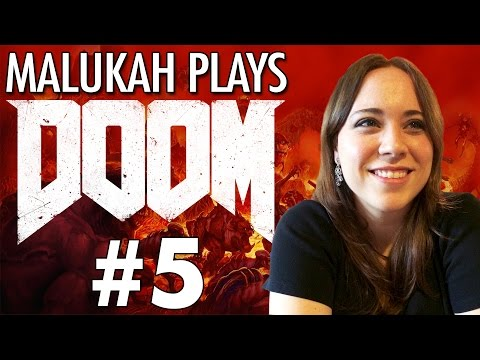 Malukah Plays Doom - Ep. 5: Waving to the Developer's Mom