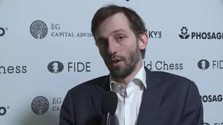 Round 14. Interview with Alexander Grischuk