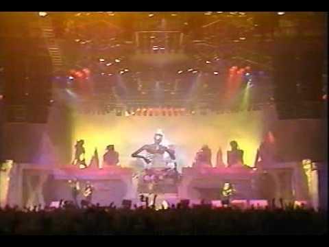 Iron Maiden -Iron maiden- Maiden England-Live in Birmingham 1988